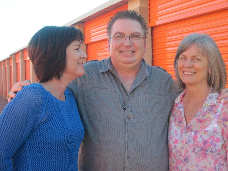 Tami Jackson, Mark Farley and Sheila Coonen