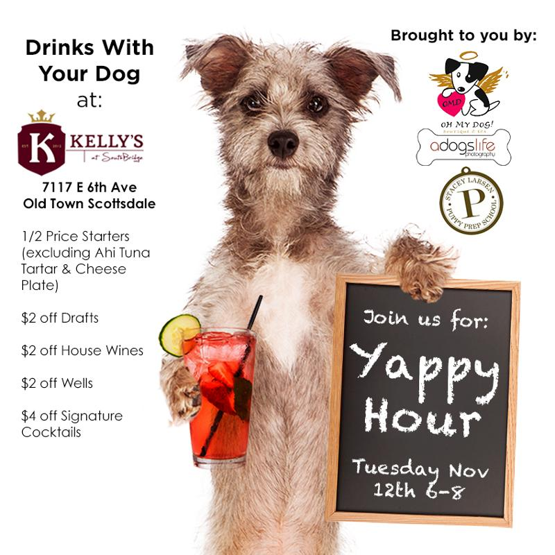 Yappy Hour at Kelly's