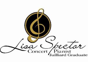 Lisa Spector, Concert Pianist, Juilliard Graduate logo