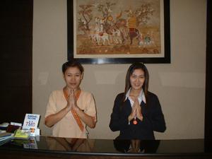 Bangkok Resort Hotel staff greeting