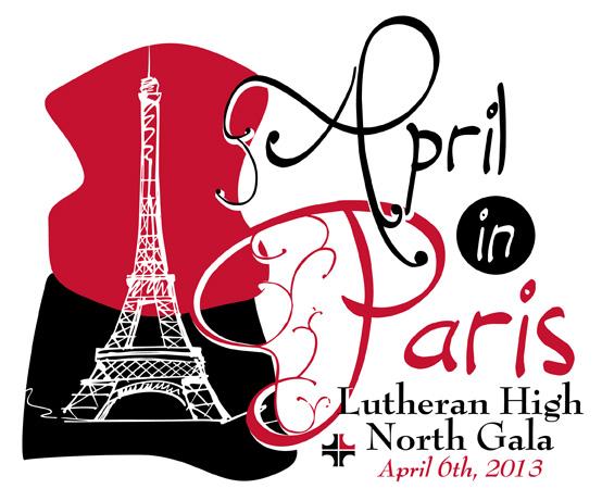 April in Paris 2013 Gala Logo