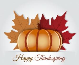 maple leaves thanksgiving