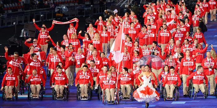 Parapan Team Canada