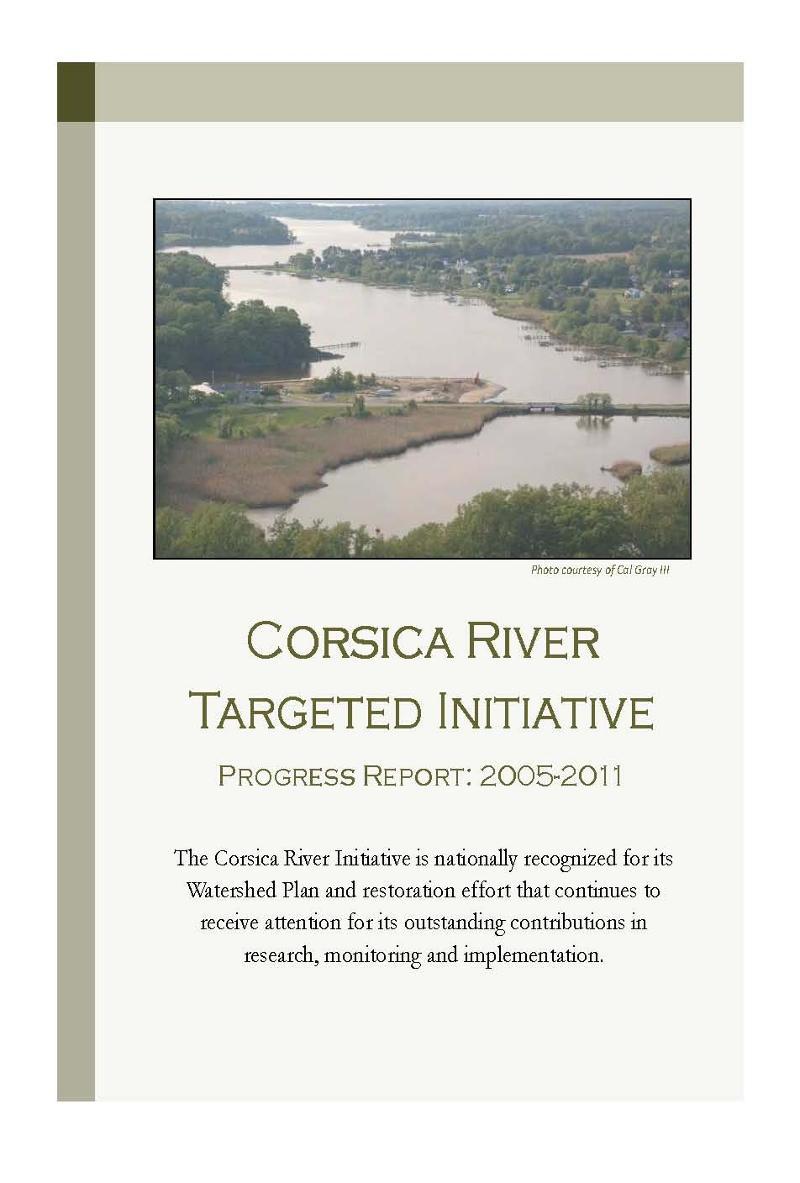 corsica report cover