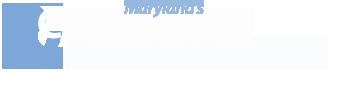 CCS text logo white