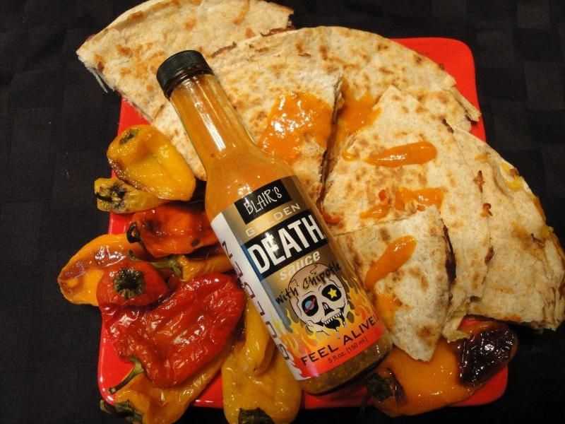 Golden Death Quesadillas