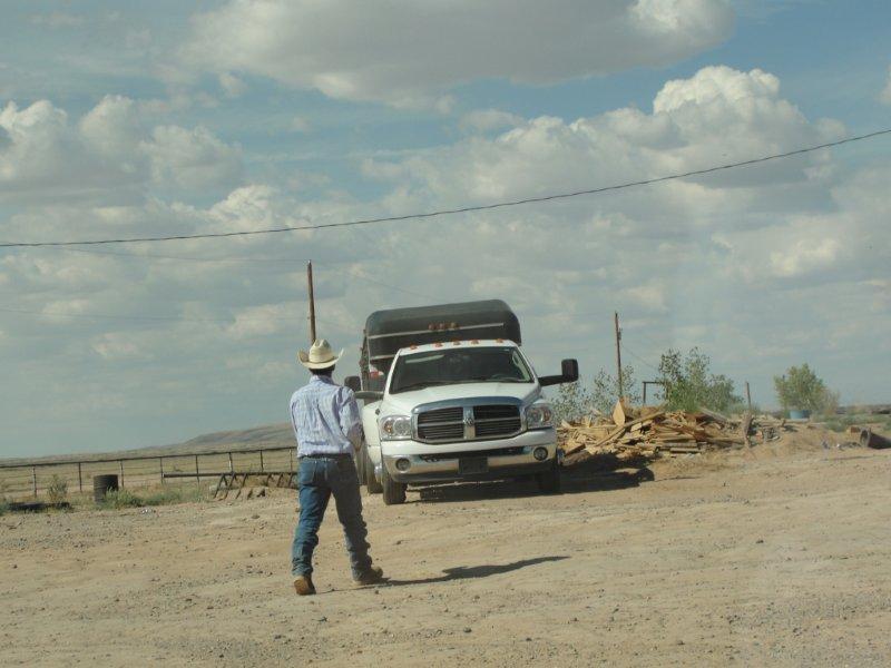 Misner truck at Los Lunas Auction