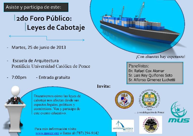Leyes de Cabotaje