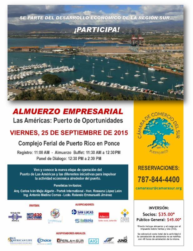 Las Oportunidades del Puerto de las Américas