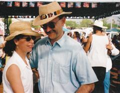 Sue and Mark Cajun Dancing