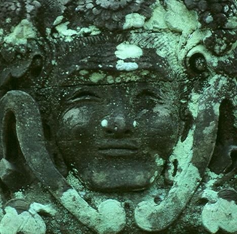 Balinese Sculpture Face