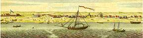 Gulf Coast Historical Map Photo