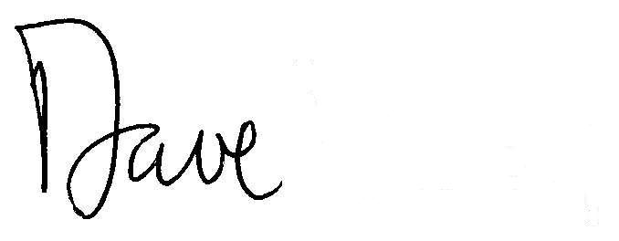 Dave Signature
