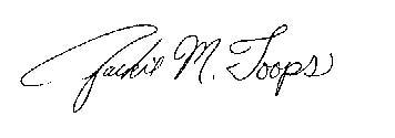 Jackie's Signature
