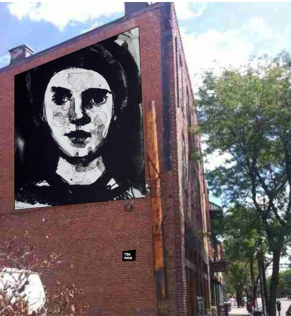 Sherrie Gallerie Mini-Mural Mockup