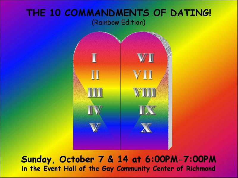10 commandments of dating student edition Sightings of the paradoxical commandments dynamic leadership in the student council the paradoxical commandments one version is known as the ten.