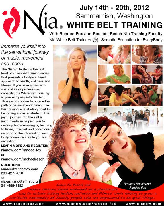 White Belt Randee Rachael