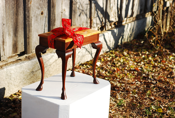 Christmas Gift of Filly Foot Side Table