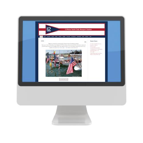 12 Metre Yacht Club website icon