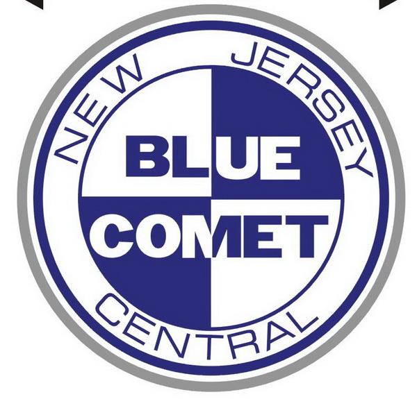 Blue Comet Pin