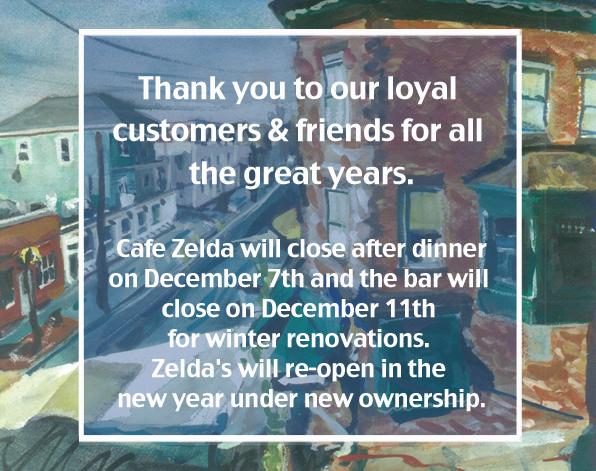 Cafe Zelda