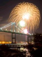 Newport Harbor Fireworks