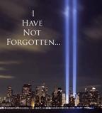 Twin Towers 9/11 Lights