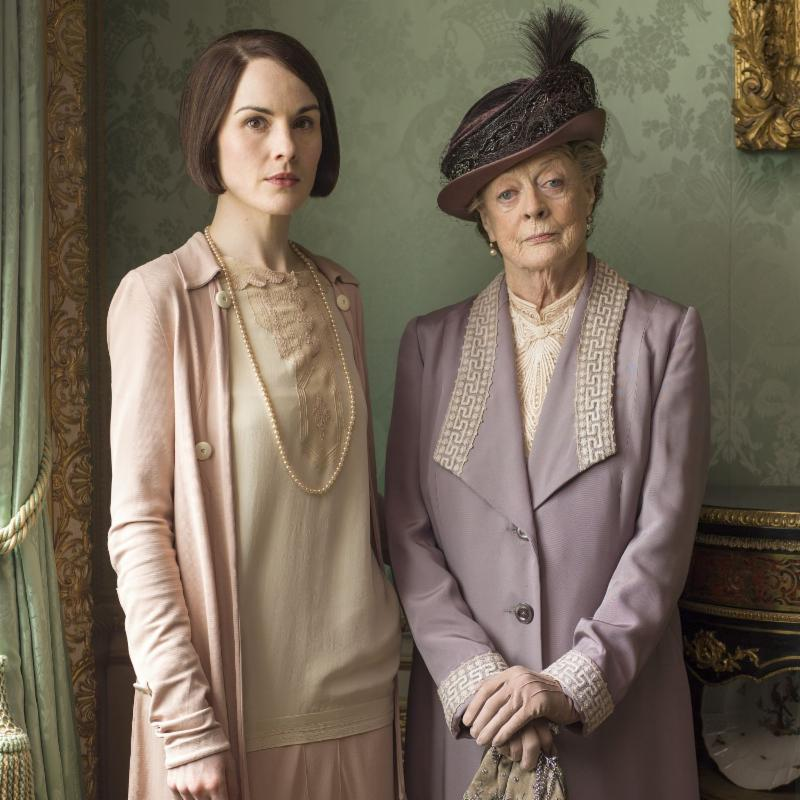 Downton Abbey Mary and Violet