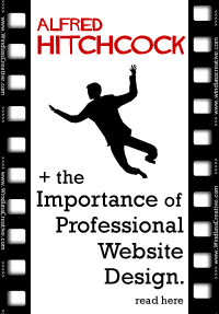 Alfred Hitchock + the Importance of Professional Website Design