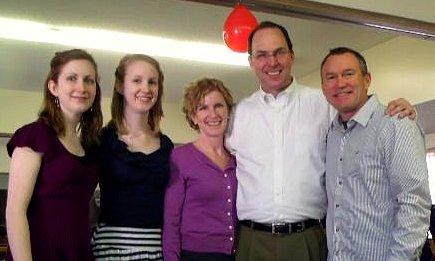 Keith Crosby family
