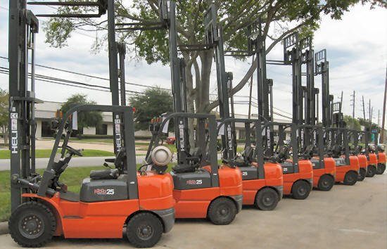 Our Entire Used New Forklift Inventory