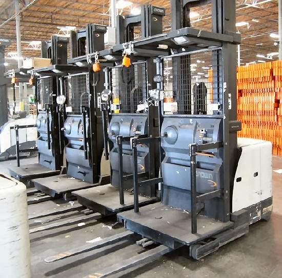 Used Car Warehouse: 50 Used Forklifts For Sale. Crown, Toyota, Nissan & Tusk