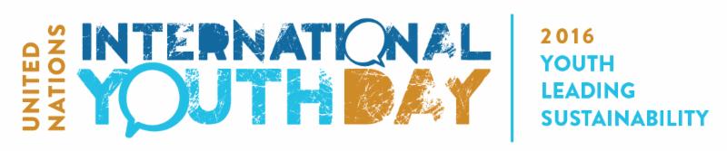 International Youth Day Logo.