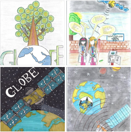 Random selection of entries to the 2015 Calendar Art Competition.