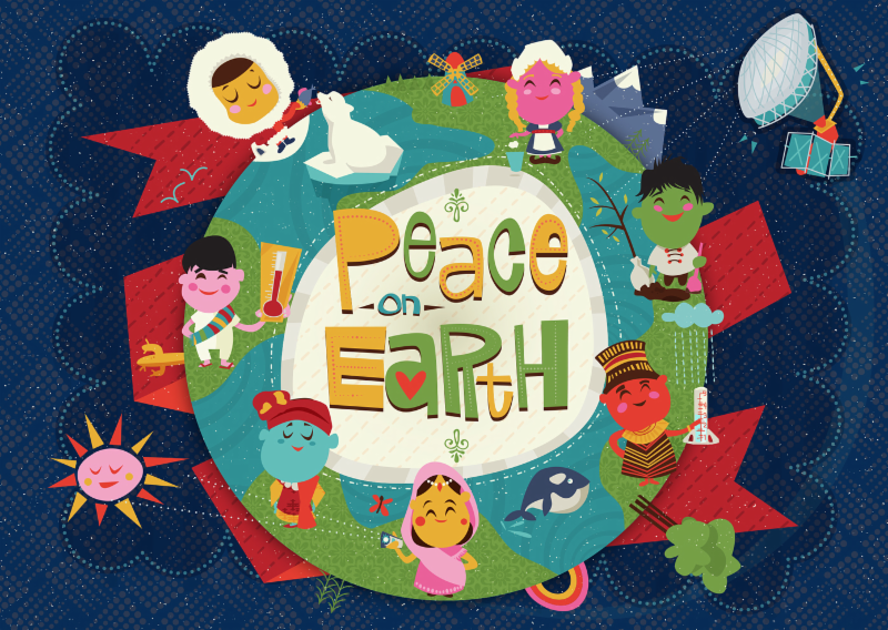 image of the GLOBE Holiday Card 2016