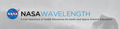 NASA Wavelength logo.
