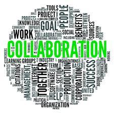 Collaboration word ball