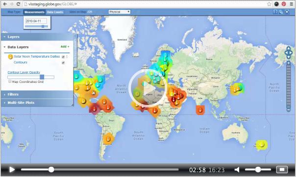 GLOBE's NEW online web tutorials