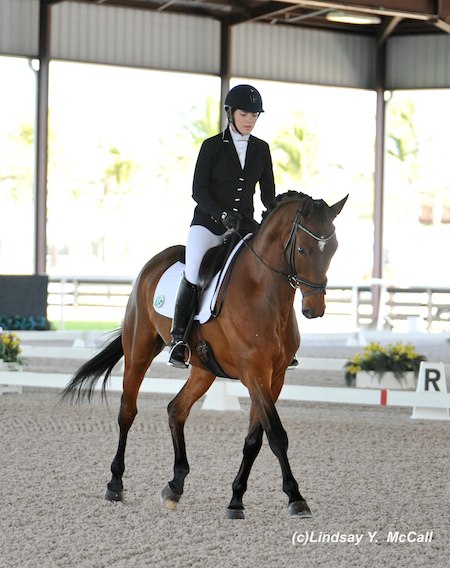 Angela Peavy (USA) Grade III and Ozzy Cooper, owned by Rebecca Reno. Photo by Lindsay McCall.