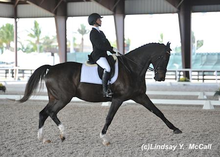 Elizabeth Traband (USA) Grade IV and Ucari, owned byHelene Bergstrom. Photo by Lindsay McCall