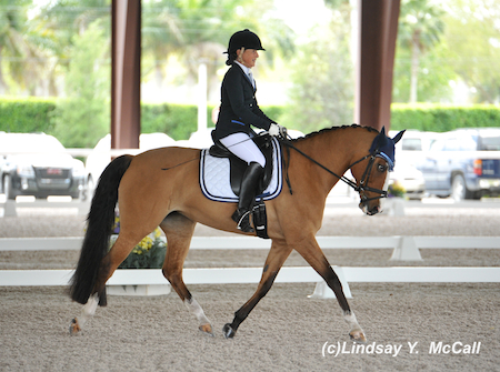 Deborah Stanitski (USA) Grade III and Tiramisu. Photo by Lindsay McCall