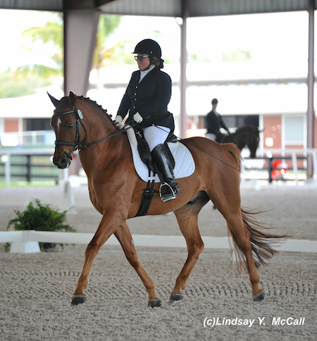Ellie Brimmer (USA) Grade III and London Swing. Photo by Lindsay McCall