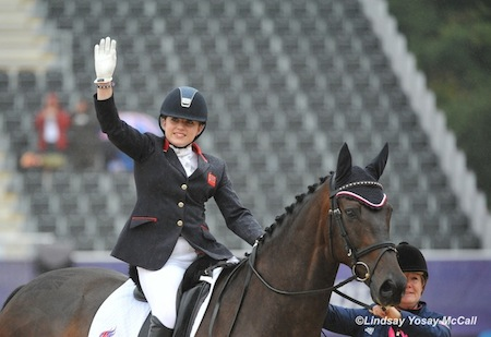 Natasha Baker (GBR) and Cabral