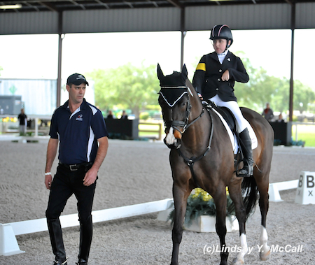 Wes Dunham with Sydney Collier (USA) Grade Ib and NTEC Cuplee. Photo by Lindsay McCall
