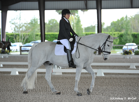 Jody Schloss (CAN) Grade Ia and Inspector Rebus. Photo by Lindsay McCall