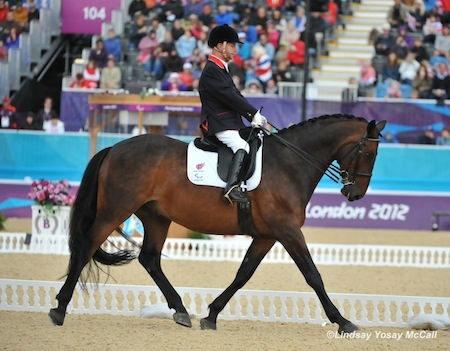Lee Pearson (GBR) and Gentleman by Lindsay Y McCall