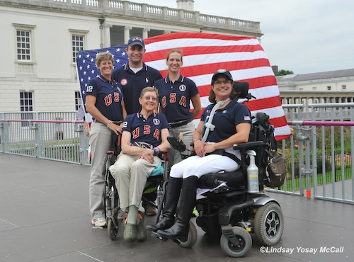 USA Team 2012 Missy Ransehousen, Jon Wentz, Rebecca Hart, Dale Dedrick and Donna Ponessa by Lindsay Yosay McCall