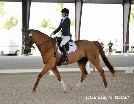 Pamela Hardin (USA) Grade IV and Freemont, owned by Nadege Soubassis. HArdin earned the premiere sportsmanship award  Photo by Lindsay McCall