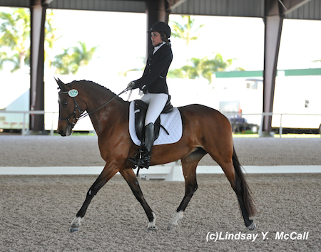 Elle Woolley (USA) Grade III and P. Sparrow Socks. Photo by Lindsay McCall