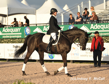 Roxanne Trunnell (USA) Grade Ia and NTEC Richelieu. Photo by Lindsay McCall